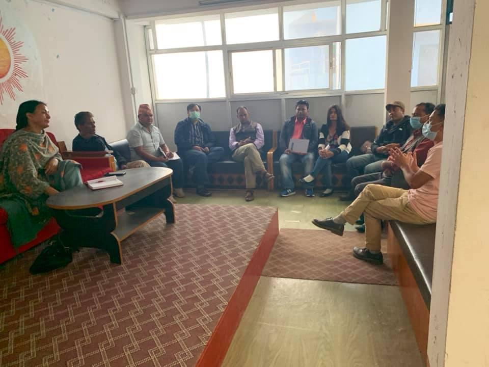 प्रेस संगठन दोलखाकाे एकता सम्मेलन १७ असोजमा हुने