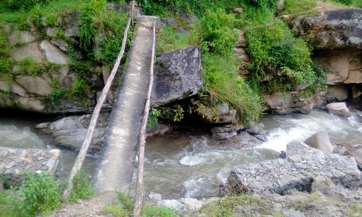 भाँचिएको पुल अझै बनेन