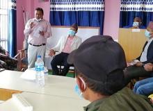 गौरीशंकर पुस्तकालयद्धारा अपाङ्गहरुलाई खाद्यन्न सहयोग